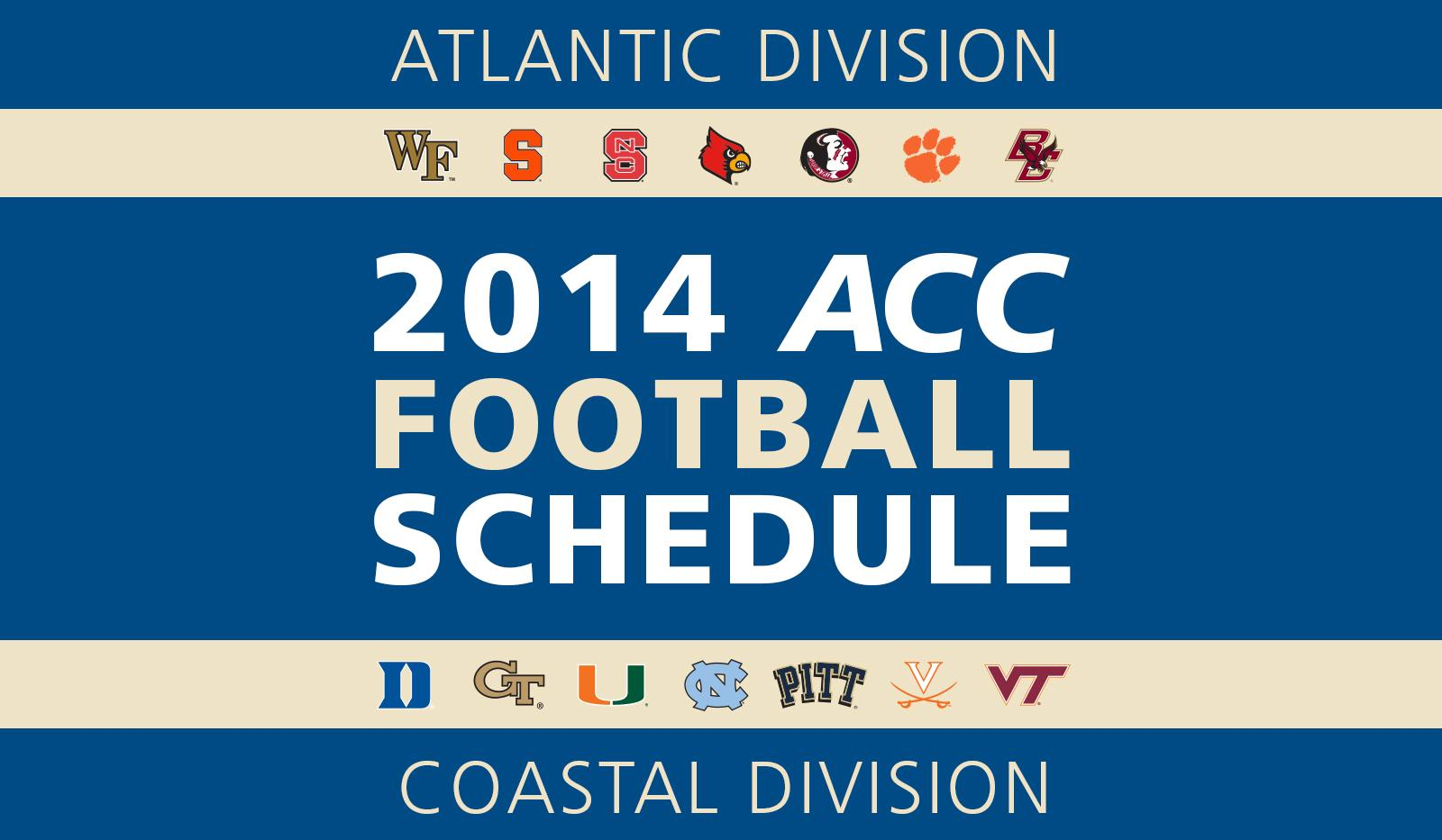 2014 ACC Football Schedule Announcement 001